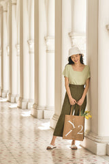 Barbara Culottes in Green