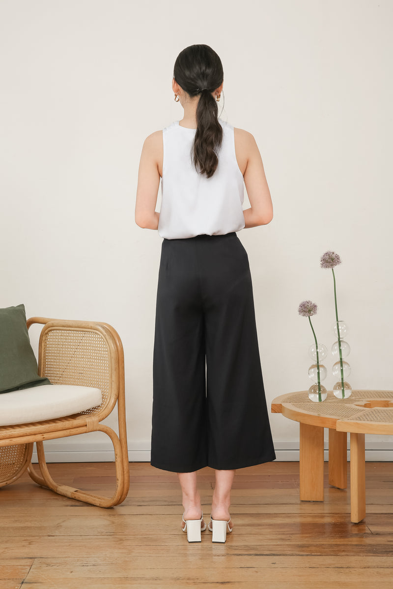 Liya Tailored High Waisted Culottes