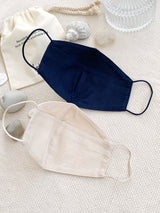 Yotto Reusable Face Mask with Washable Bag in Beige