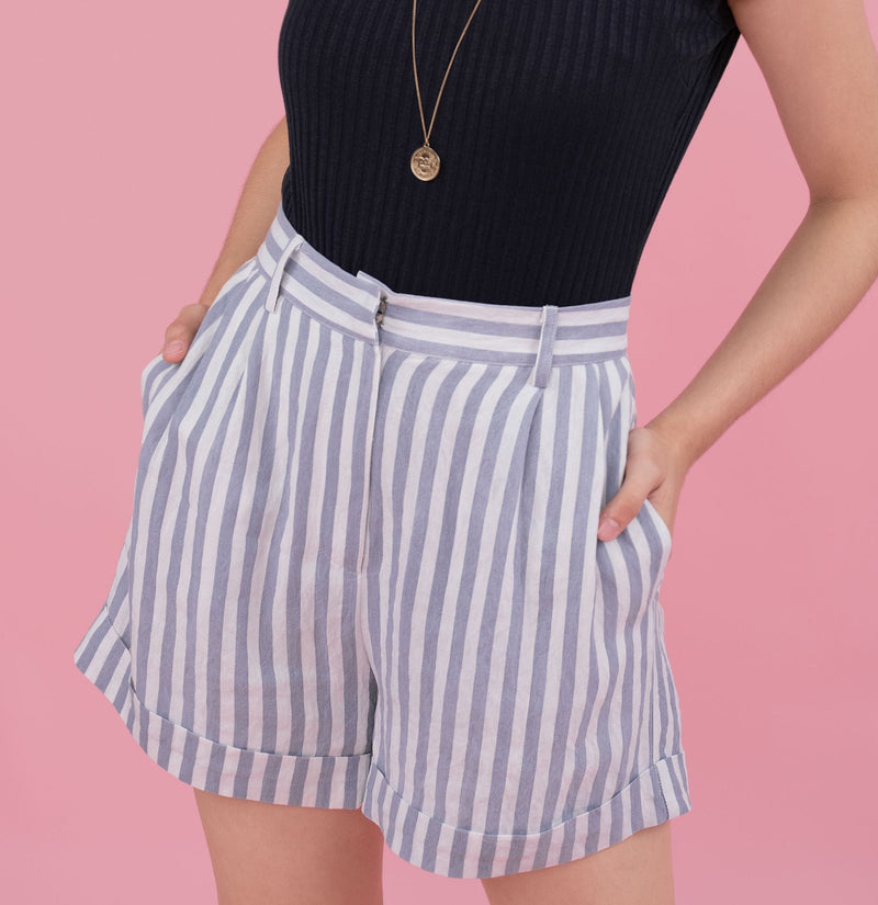 Karen Striped Shorts