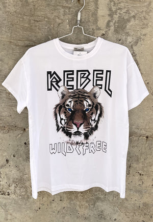 PB Rebel Tiger Tshirt