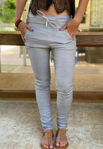 SUMMER GLOW GRAY PANTS
