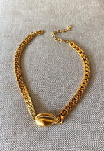 Copy of GORMET CHOCKER GOLD SMALL שרשרת