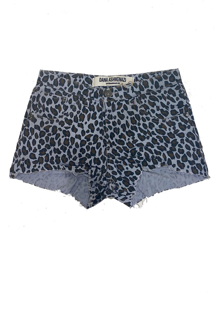 LEOPARD SUMMER SHORT מכנסיים