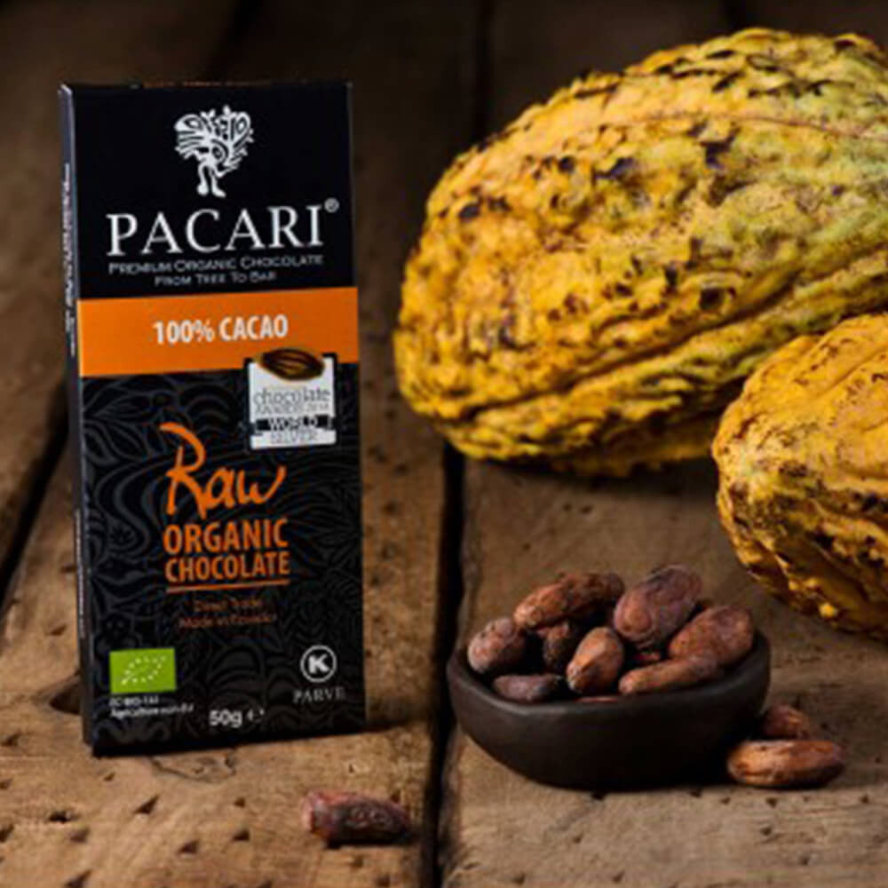 Pacari Raw 100% Chocolate