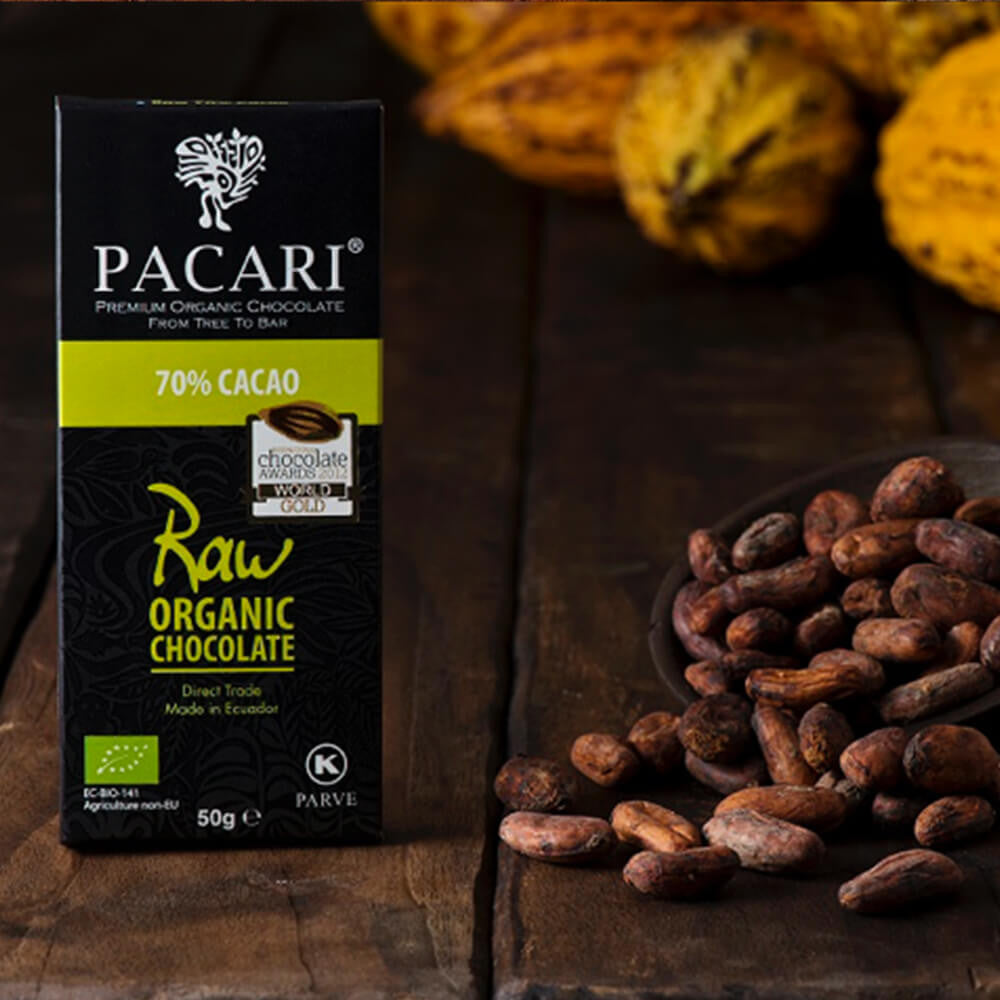 Pacari Raw 70% Chocolate
