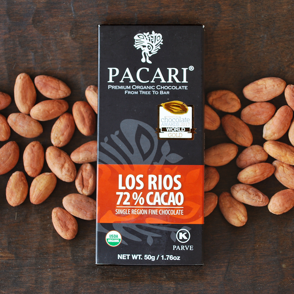 Pacari Los Rios 72% Single Origin