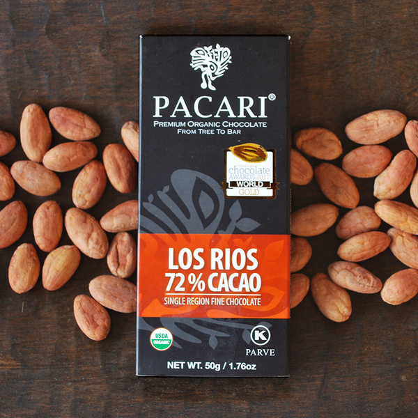 Chocolate bars 70% up to 100% cacao