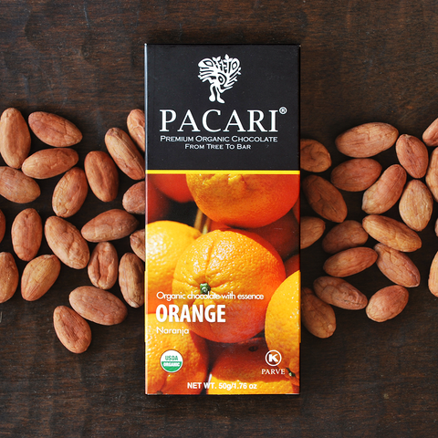 Pacari Orange Chocolate