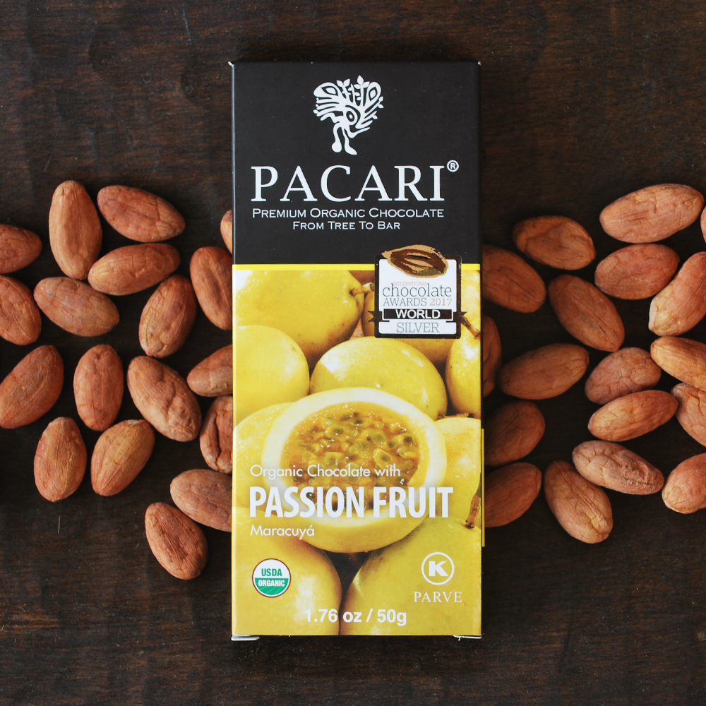 Pacari Passionfruit Chocolate