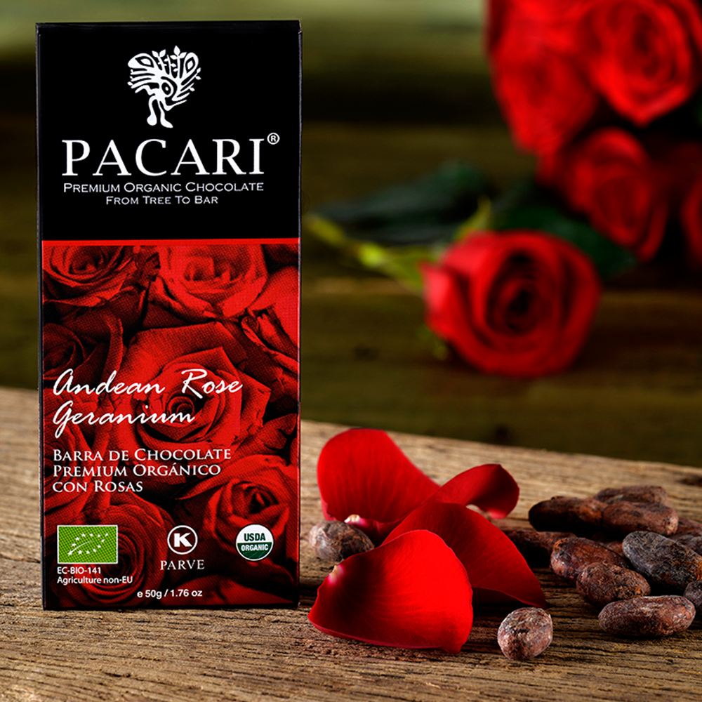 Pacari Andean Rose Chocolate