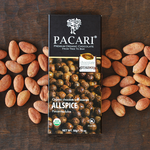 Pacari Allspice Chocolate