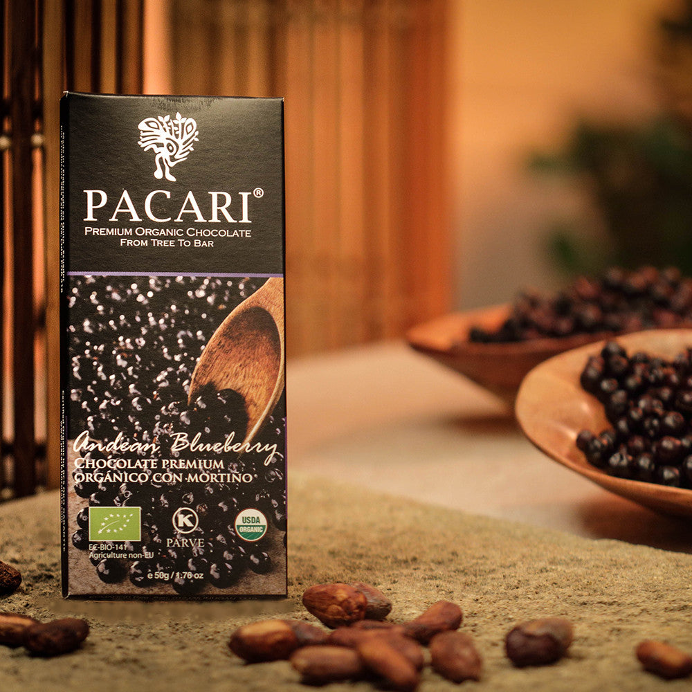 Pacari Blueberry Chocolate