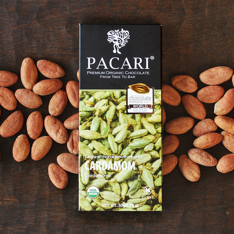 Pacari Cardamon Chocolate