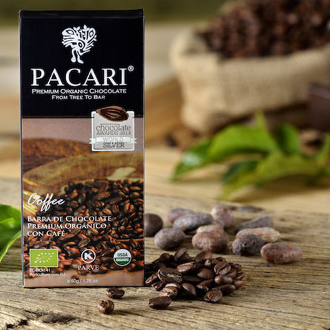Pacari Coffee Chocolate