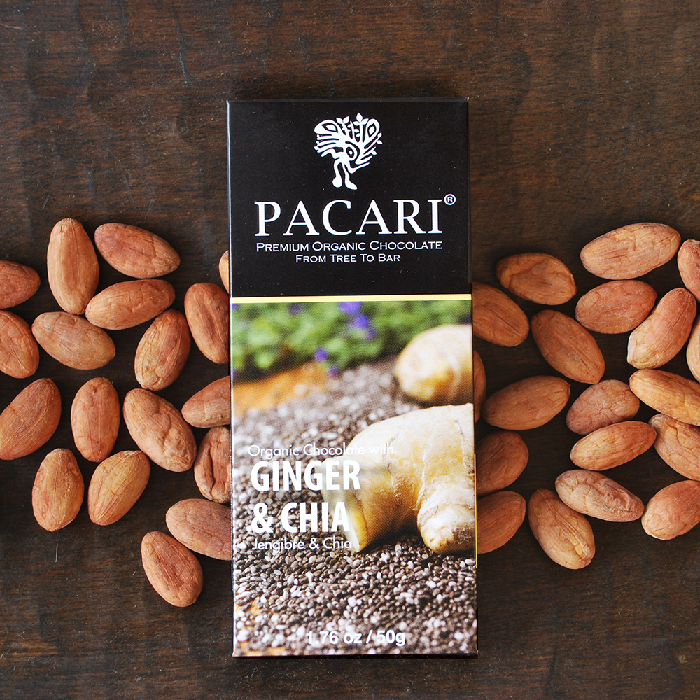 Pacari Ginger & Chia Chocolate