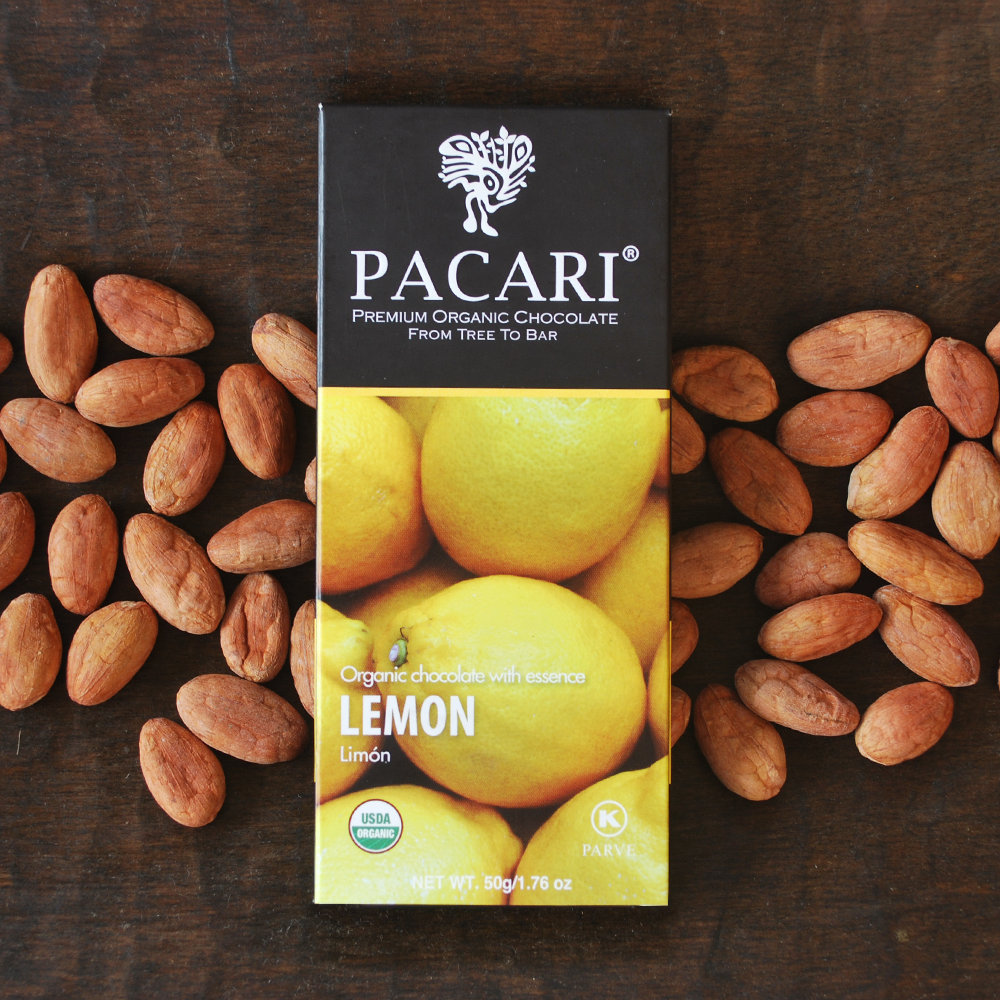 Pacari Lemon Chocolate