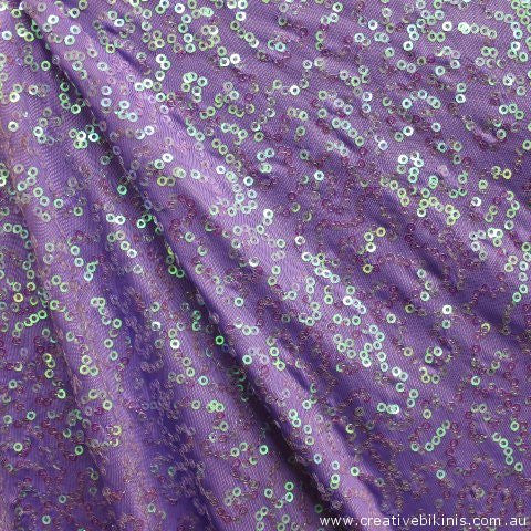 12192  lilac  with Pearl  SEQUINS Sample