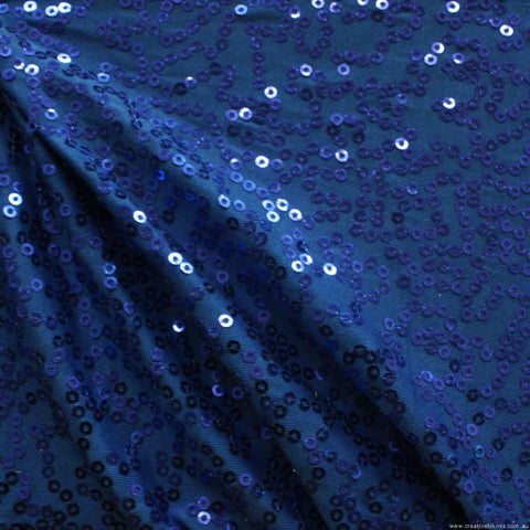 2890  Royal Blue   SEQUINS Sample