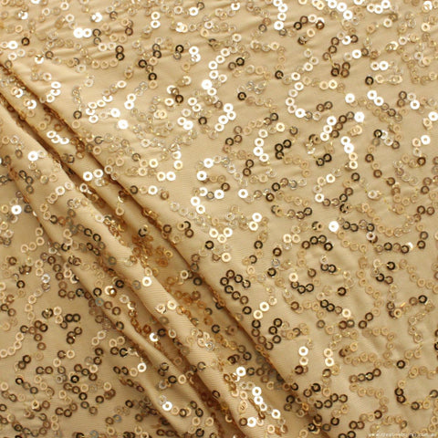 3632 GOLD  SEQUIN Sample