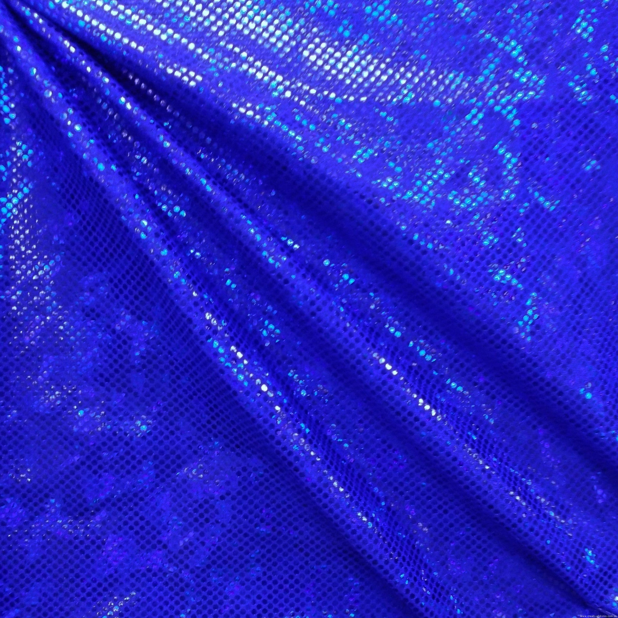 5276 Royal Blue   Shattered Glass Sample
