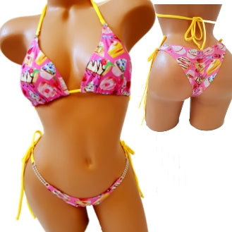 Beach Bikini or Practice Suit  SWEET TREAT