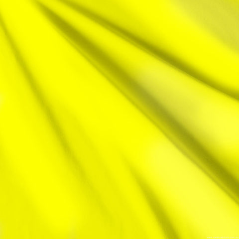 Fluro yellow Matt Lycra F5
