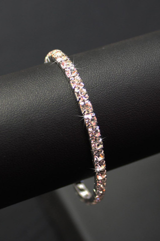 Single  Row Diamante Bracelet