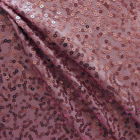 4990 Soft Pink  SEQUINS Sample