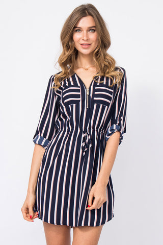Off-Shoulder Kleid Corie