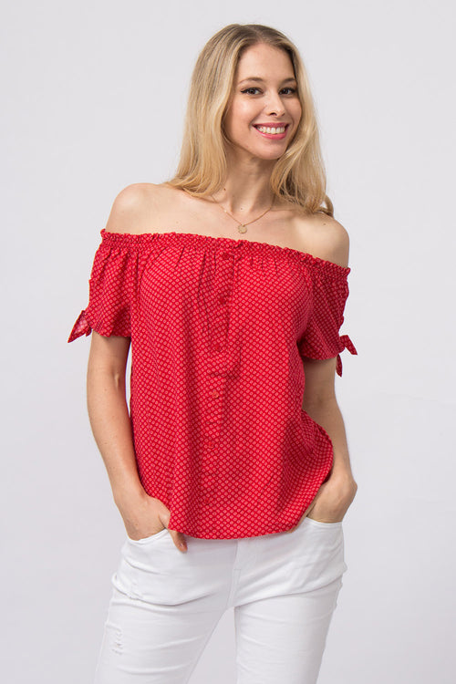 Off-Shoulder Bluse Lilly