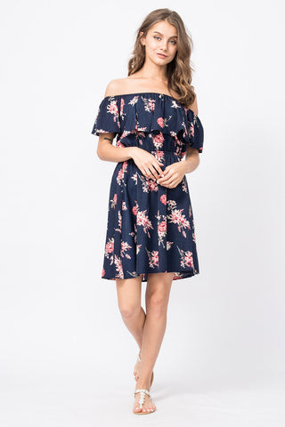 Off-Shoulder Kleid Kiara
