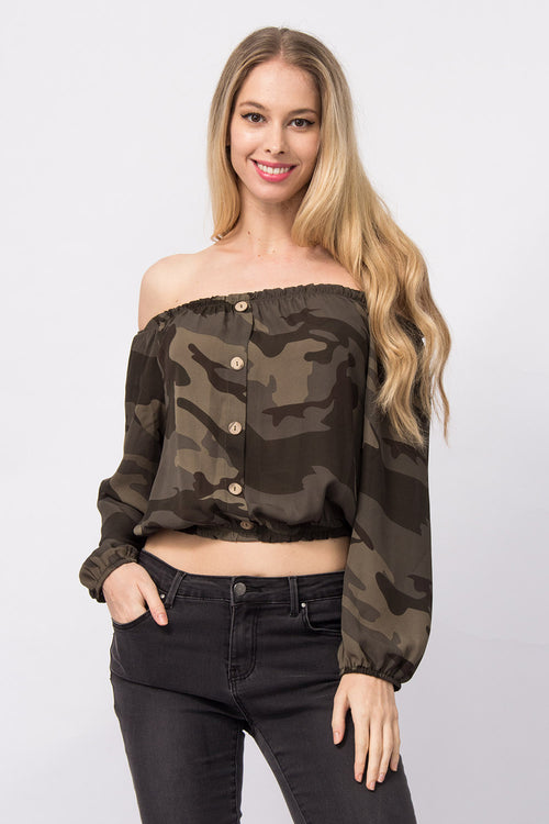 Off-Shoulder Bluse Nelia