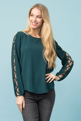 Off-Shoulder Bluse Anela