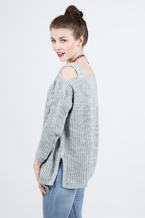 Cut-Out Strickpullover Silvie