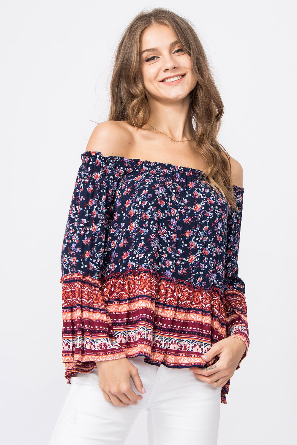 Off-Shoulder Top Noreen