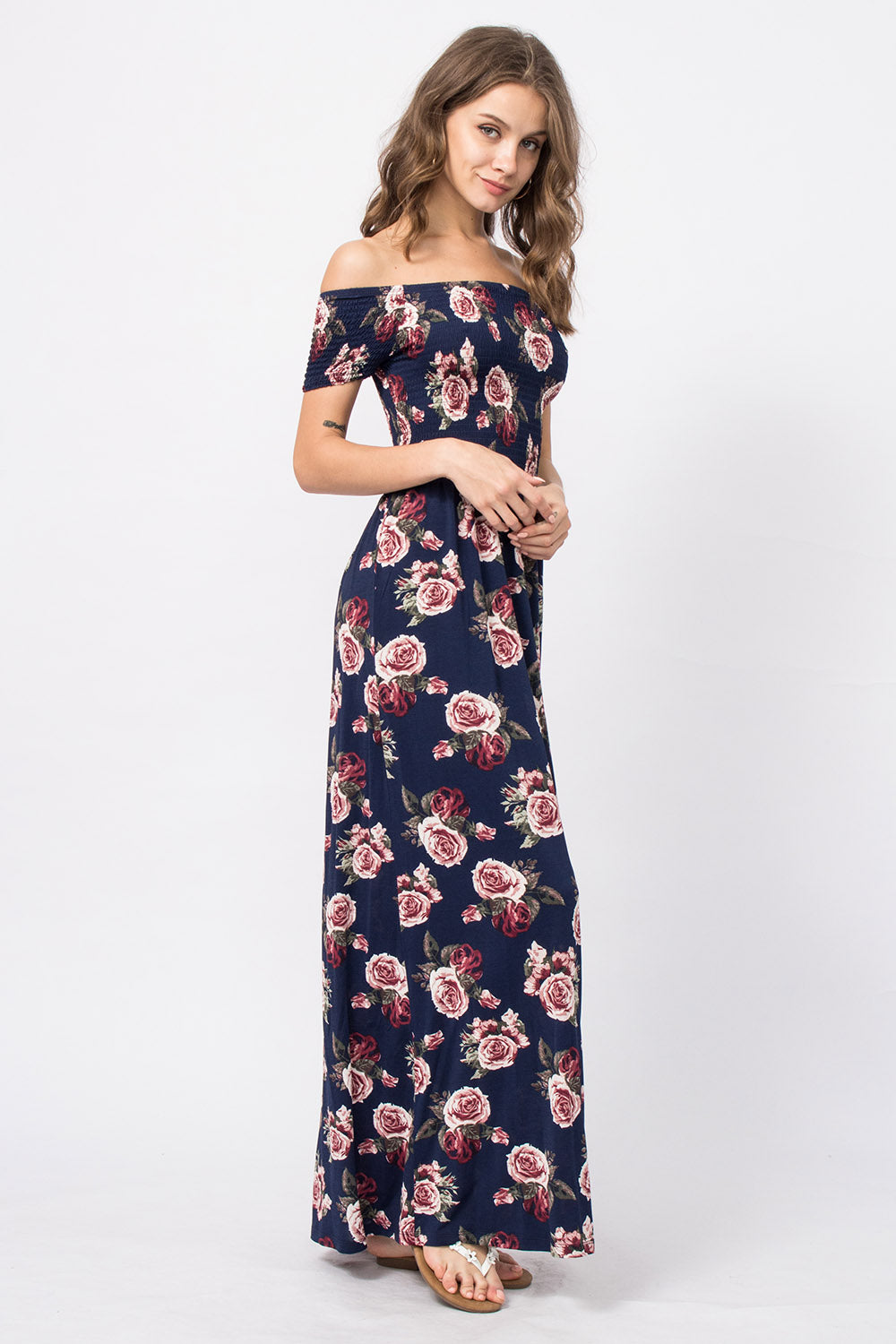 Off-Shoulder Kleid Vivian