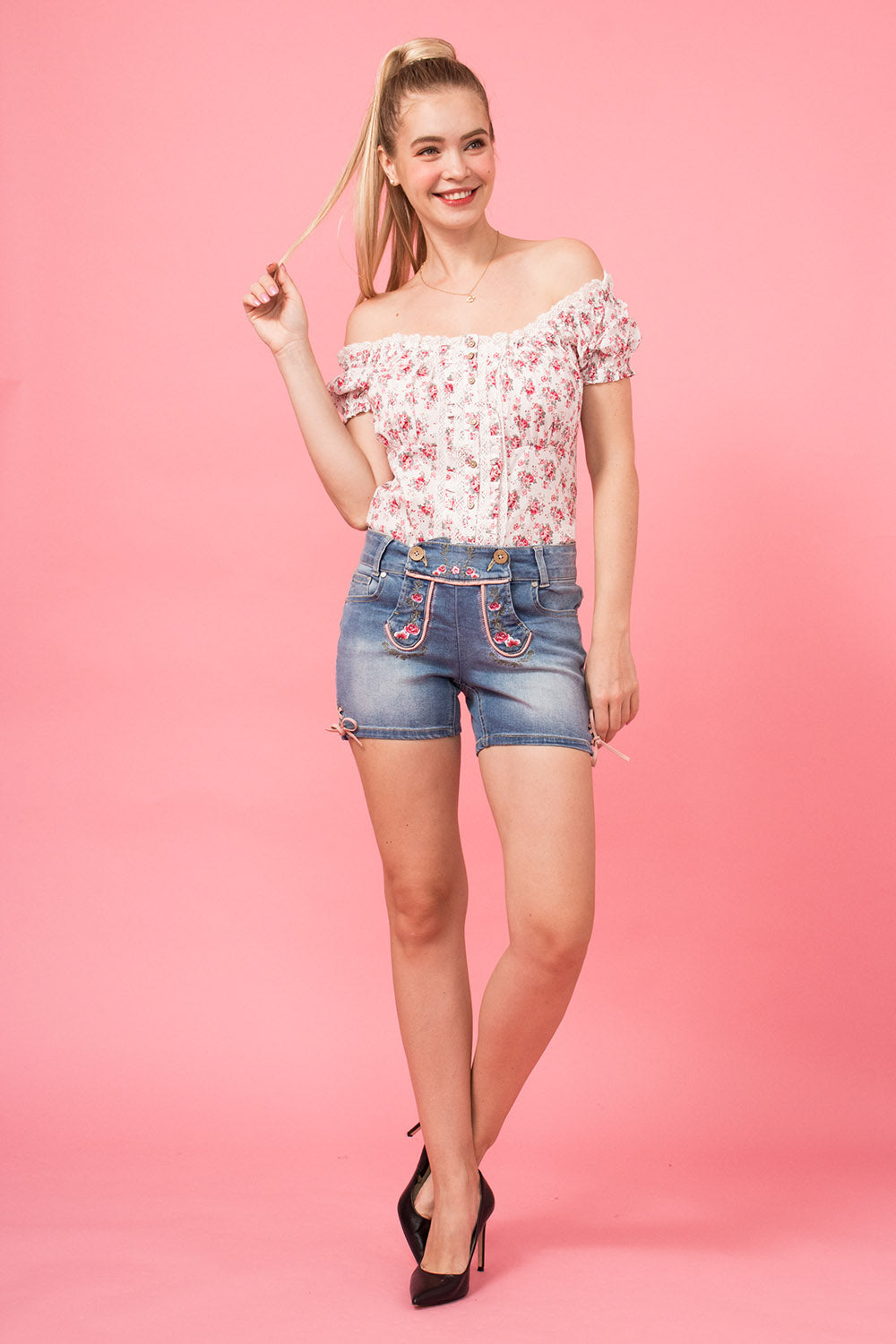 Jeansshorts Lilly