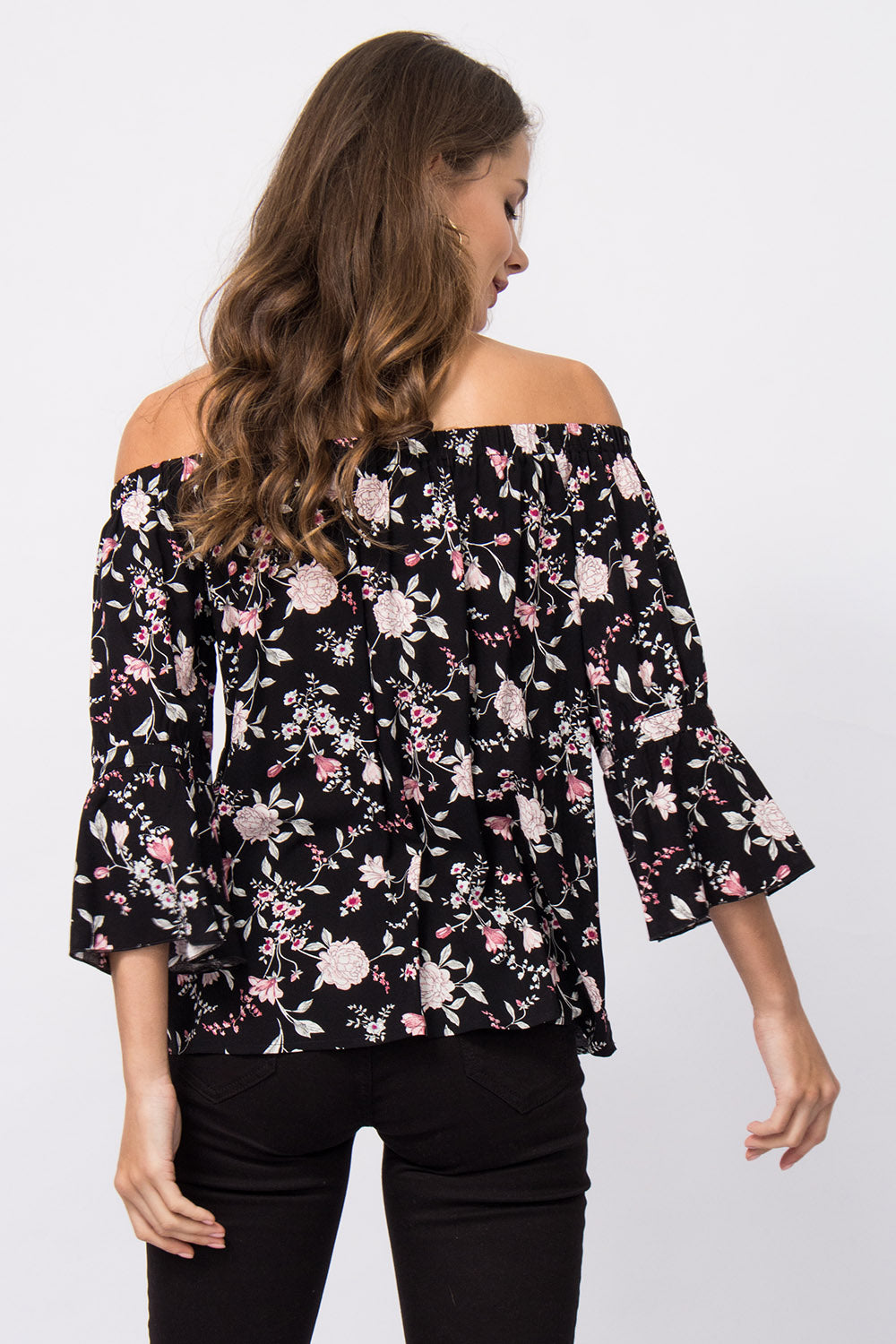Off-Shoulder Bluse Laura