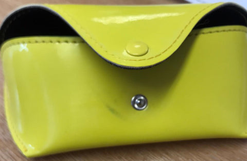 Samba Bright Neon Yellow Glasses Case ***SALE - DAMAGED***