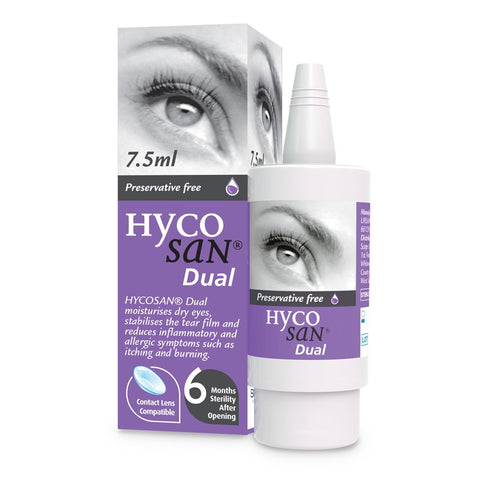 Hycosan Dual Eye Drops for Dry Eyes
