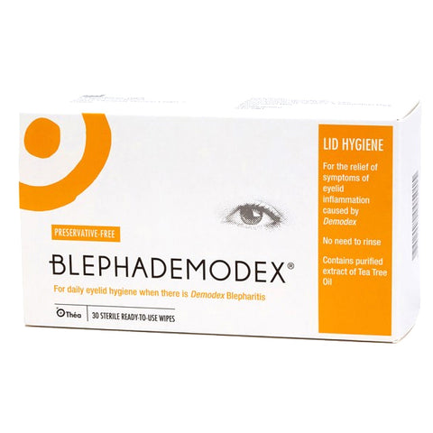 Blephademodex Lid Wipes -SALE-Short Expiry in Mar 21