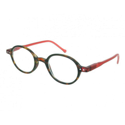 Reading Glasses - Unisex - Campbell - Tortoiseshell / Red