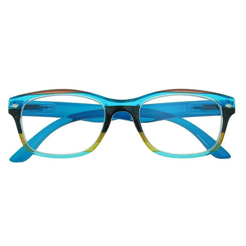 Reading Glasses - Unisex - Carnival - Blue / Multi