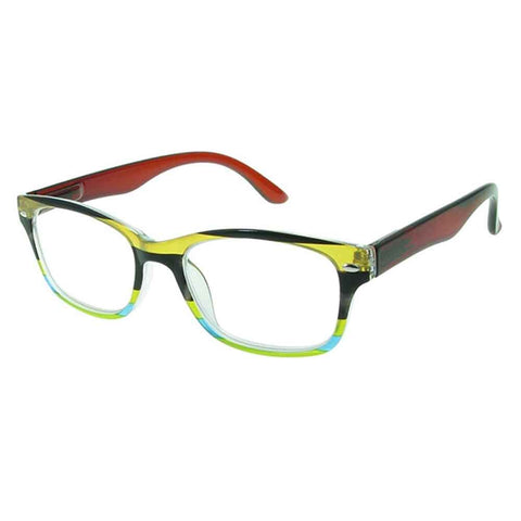 Reading Glasses - Unisex - Carnival - Brown / Multi