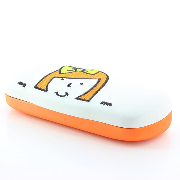 Orange Cartoon Kids Spectacles Case