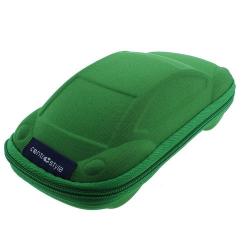 Green Car Shaped Childrens Glasses Case - Eyecare-Shop