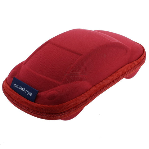 Red Car Shaped Kid's Glasses Case - Eyecare-Shop