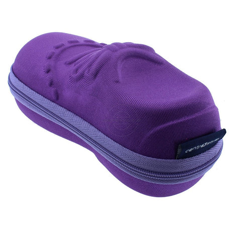 Purple Shoe Shaped Kids Glasses Case