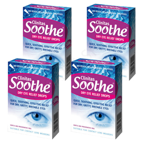 Clinitas Soothe 4 Pack